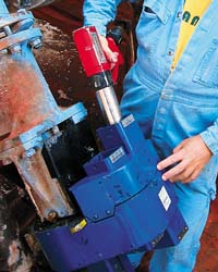 Safe working with Norbar pneumatic range of tools