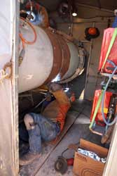 Colongra Pipeline being welded with Lincoln Electric STT process and G70M wire