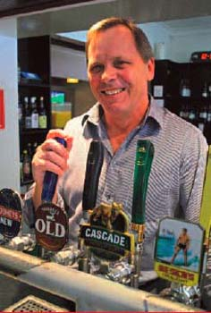 Peter Turner - Licensee of Rose & Crown Hotel