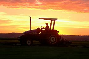 Farmers are being encouraged to reduce their carbon footprint, despite being exempt from the emissions trading scheme.