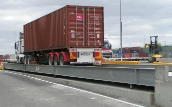 Ultrahawke Weighbridge for P&O Ports Dynan Road