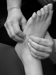 A foot massage could be just what the doctor ordered.