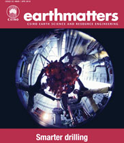 The cover of the March/April edition of earthmatters magazine. (CSIRO)