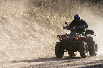 Scientists have been testing the effectiveness of a range of high tech additions to quad bikes.