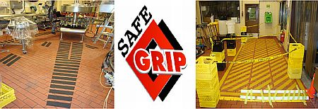 Tile Safe had proposed the Safe Grip Anti-Slip strips to be applied over nominated areas and walking paths also be created inside the plant to mitigate the risk.