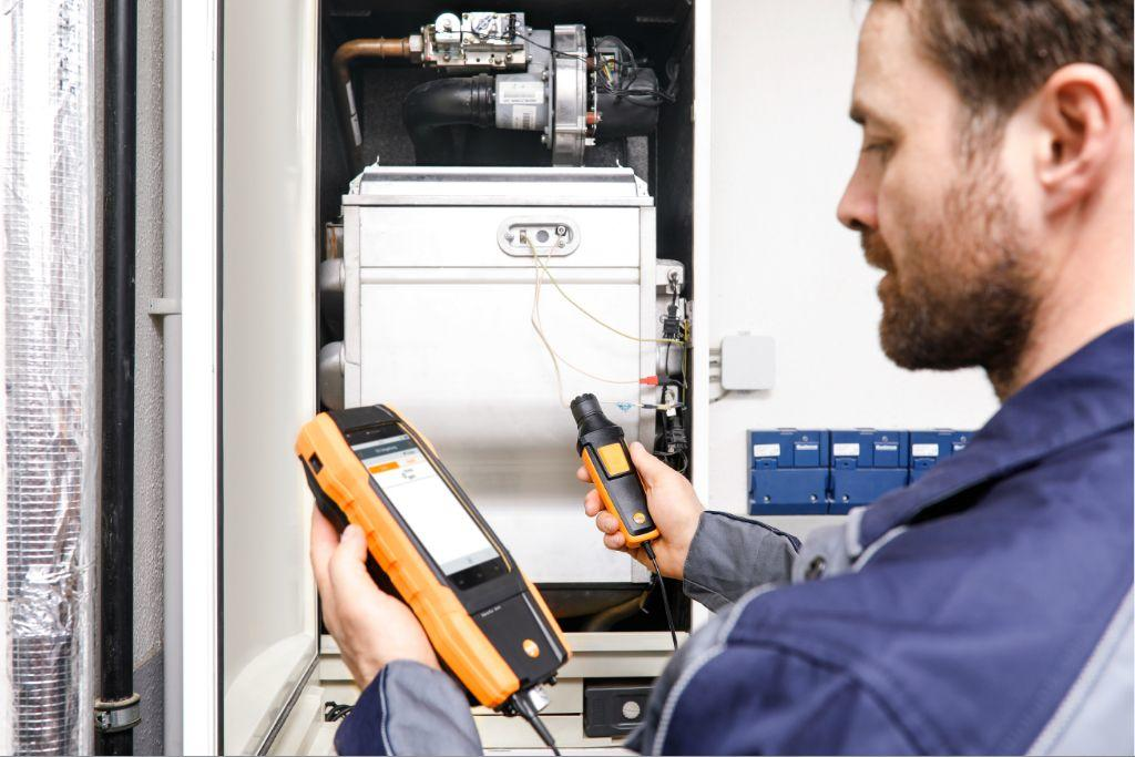 Testo launches the new 300 flue gas analyser