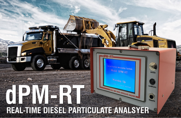 dPM-RT Real-time Diesel Particulate Analyser