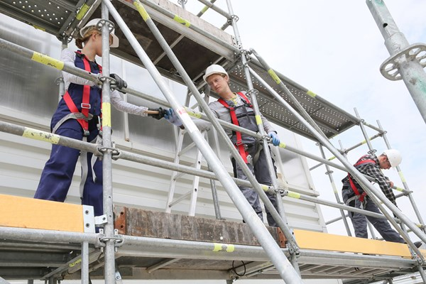 """Under NSW work health and safety laws, businesses must have safety systems in place to prevent workers falling from heights."""