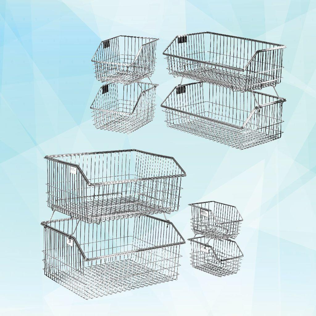 Wire Bins & Shelving