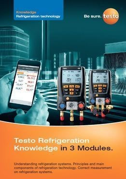 Testo Refrigeration Knowledge in 3 Modules