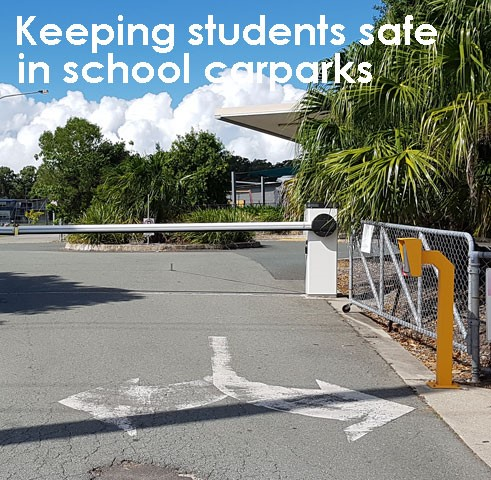 BOOM gates can be an effective solution to control who enters a school.