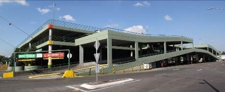 The Sydney Markets carpark where the ramp upgrade was undertaken by RKR Engineering, as designed by Griffiths Engineers for Sydney Markets using Hercules slip joint technology