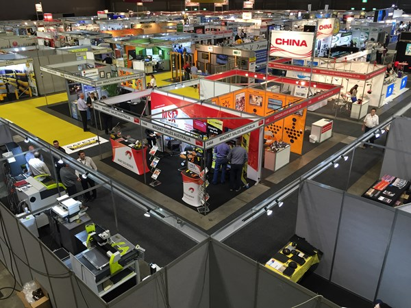 Birds Eye View of the MSA Stand, May 2016