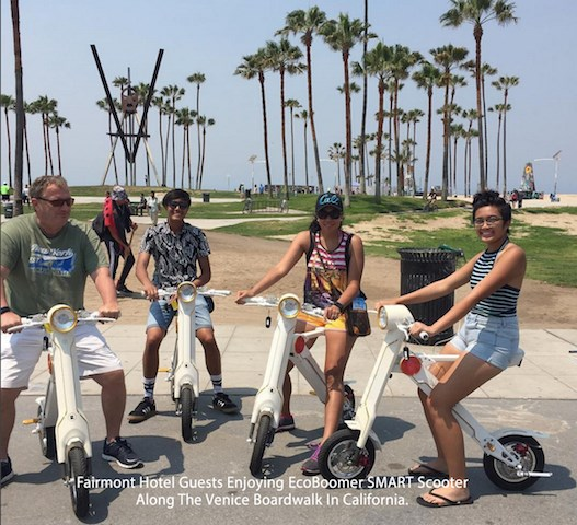 Lehe eBike Rental at Santa Monica Beach
