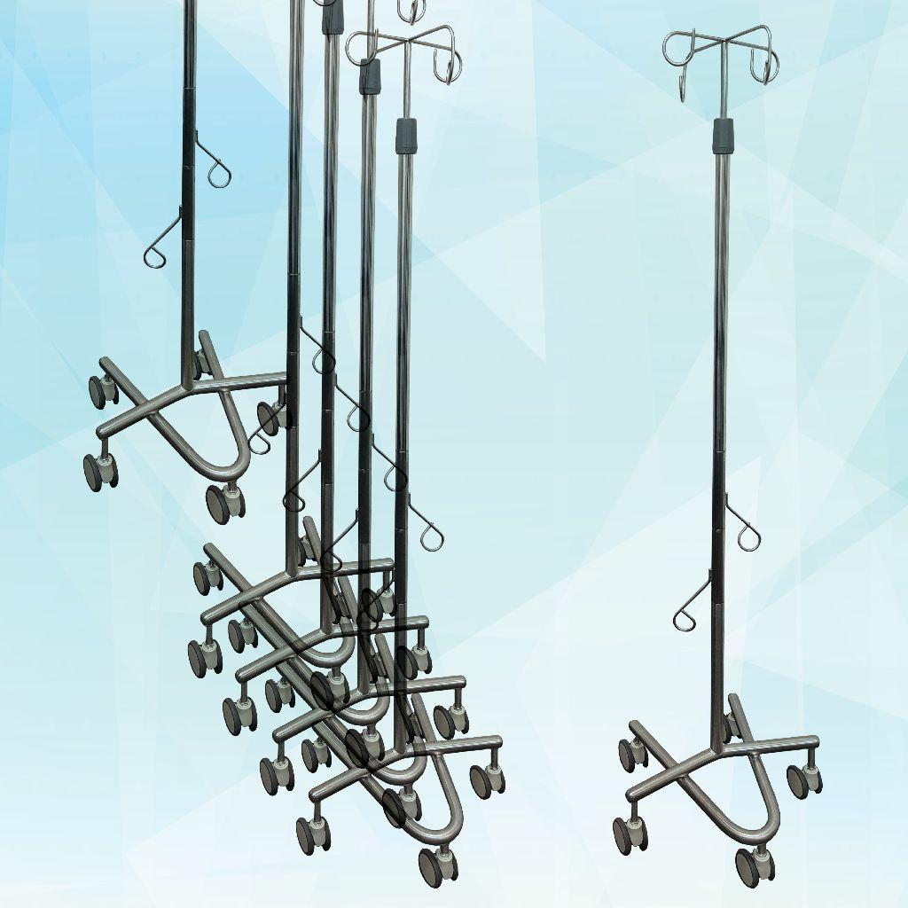 New Premium Stacking IV Pole