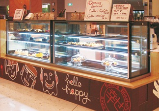 Refrigerated Cake Display Counters Riviera