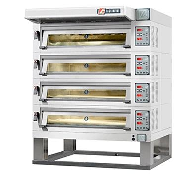 4 deck oven