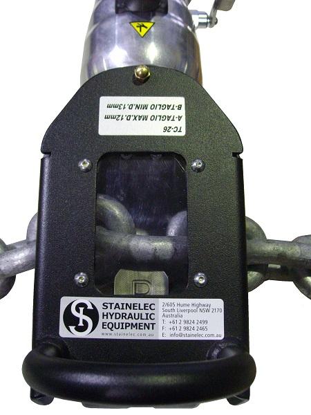 Electric Hydraulic Chain Cutter Edilgrappa Tc26