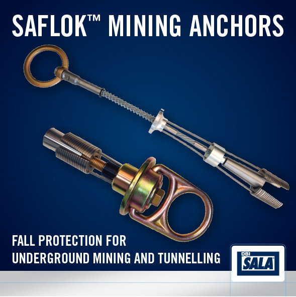 Saflok™ Fall Protection Mining Anchors - IndustrySearch
