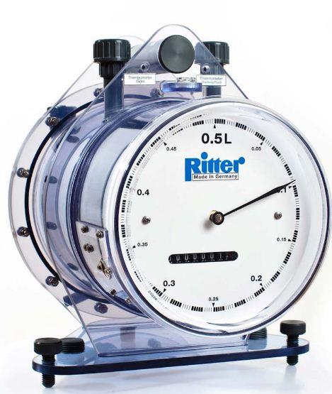 TG 10 Счетчик газа барабанный Ritter (20-1200 л/час)