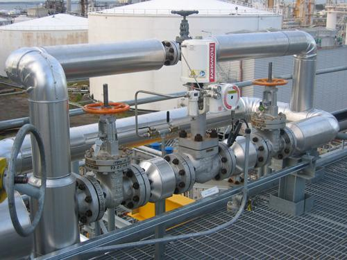 For Chimney Cladding Aluminium : Pipe process insulation cladding
