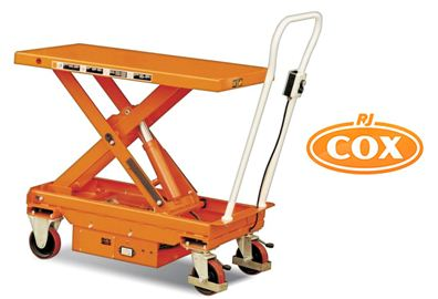 Battery Powered Electric Scissor Lift Table - Supplied by
