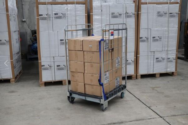 Foldia Plus Roll Cage Trolley - IndustrySearch Australia