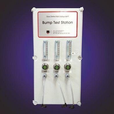 Gas Detection   Bump Test Station (BTS)   CAC-BTS Series