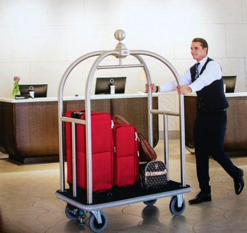 Premium Bellboy Trolley Bellhop