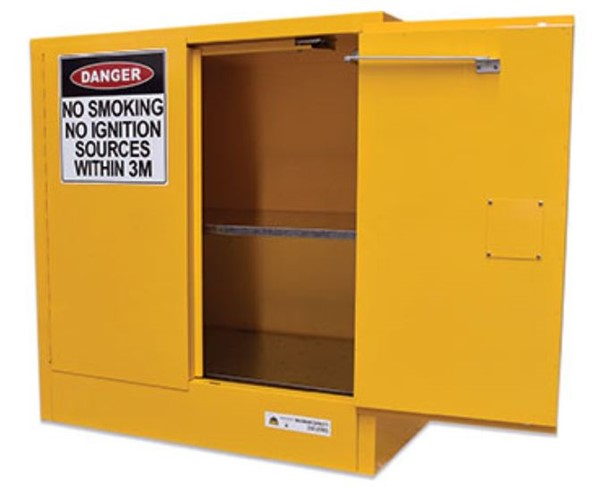 250l Flammable Liquids Cabinet Manufactured In Australia