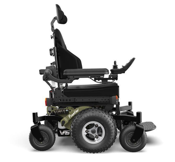 Magic Mobility All Terrain Wheelchair Frontier V6