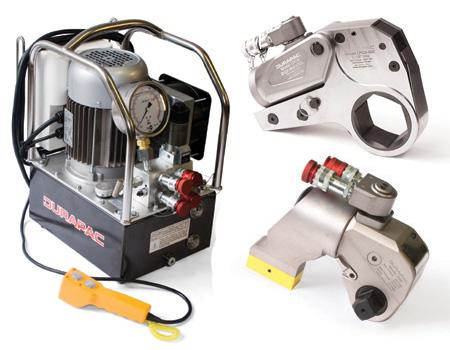 Hydraulic Torque Wrenches | Durapac - IndustrySearch Australia