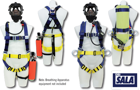Breathing Apparatus Fall Protection | Full Body Harnesses