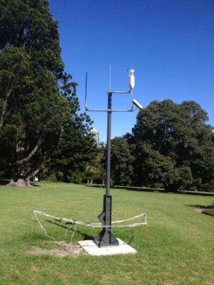 Australian Radio Towers   Aluminium Masts   Tilt Mast 10 - 14m