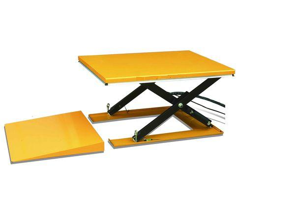Awe Inspiring Low Profile Electric Scissor Lift Table Including The Ramp Download Free Architecture Designs Crovemadebymaigaardcom