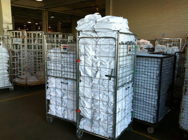 Laundry Roll Cage Trolley - IndustrySearch Australia