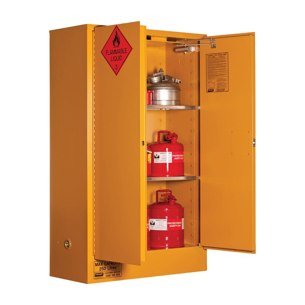 250 Litre Flammable Liquid Storage Cabinet Industrysearch