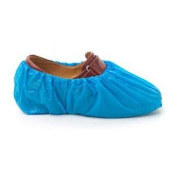 Heavy Duty Disposable Overshoes blue