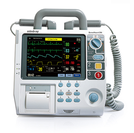 defibrillator beneheart d6 rh medicalsearch com au Mindray North America Mindray Monitor with ETCO2