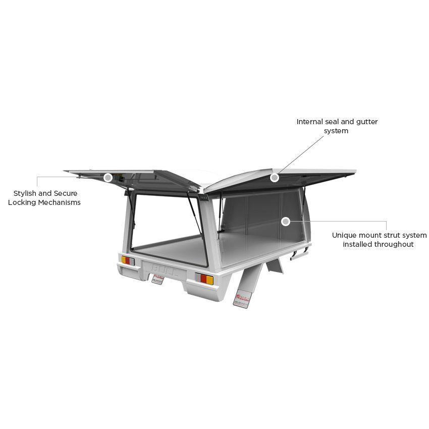 Bull Motor Bodies - Metro Chassis Ute Canopies ...