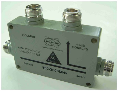 800-2500 MHz 4 Port Directional Coupler - IndustrySearch