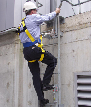 np77515 ladder safety system flexible cable lad saf®