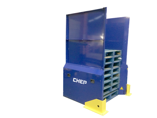 CHEP Pallet Dispenser | Pallet Dispensing Machine