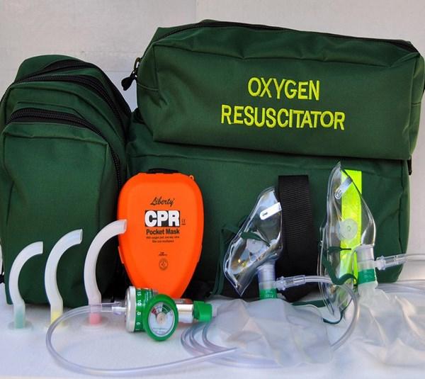 Oxygen Resuscitation Kit Deluxe Rescuer
