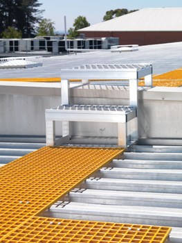 On-Trak Walkway & Roof Deck Walkway System - IndustrySearch Australia