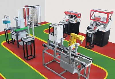 Smart Manufacturing System Trainer | Industry 4 0 Factory