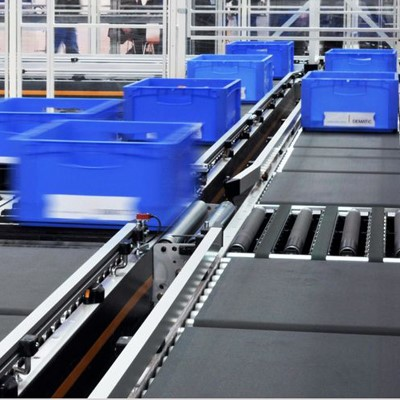 DEMATIC l Transportation Conveyor - Roller & Belt Conveyors