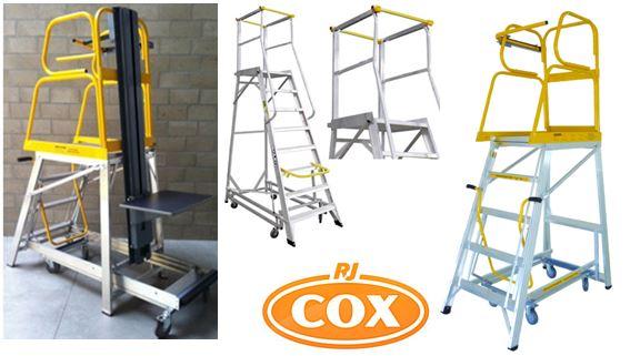 Stockmaster Navigator Mobile Platforms Rolling Ladders