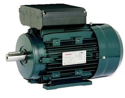 Single phase induction motor monarch teco chain drives for Single phase motor drive