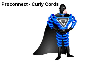 Proconnect - Curly Cords